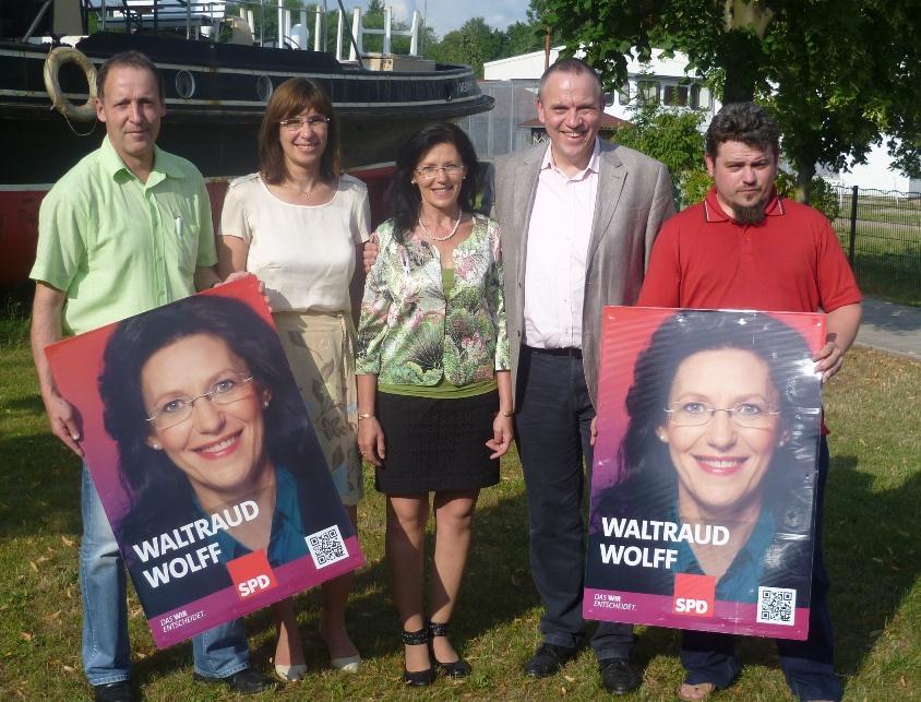 Auftakt Bundestagswahlkampf von Waltraud Wolff