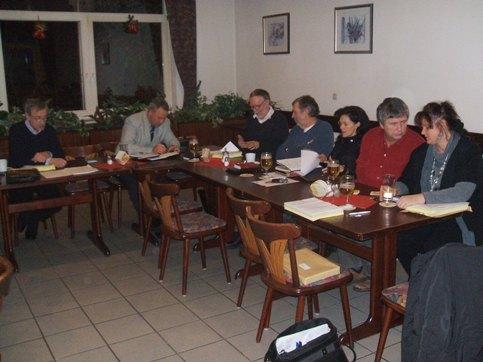 Kreistagsfraktion beriet über den Haushalt 2011